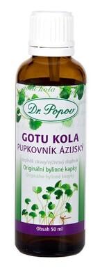 Dr.Popov Kapky bylinné Gotu kola 50ml
