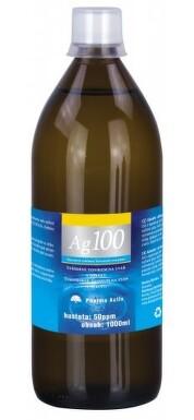 Koloidní stříbro Ag100 50ppm 1000ml