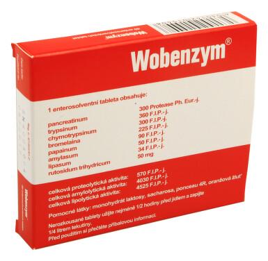 WOBENZYM perorální enterosolventní tableta 40