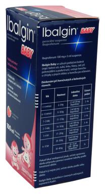 IBALGIN BABY perorální suspenze 1X100ML/2GM