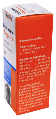 AMBROBENE 15 MG/5 ML perorální sirup 1X100ML