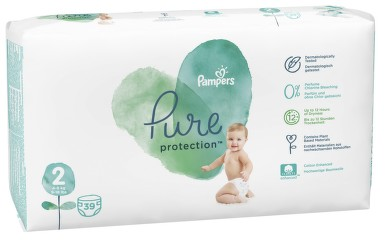 Pampers Pure protection S2 39ks