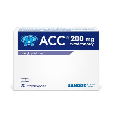 ACC 200 perorální tvrdé tobolky 20X200MG