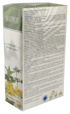 SPECIES NERVINAE PLANTA perorální léčivý čaj 20X1.5GMSÁČK