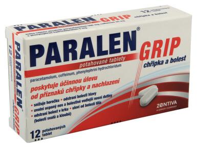 PARALEN GRIP CHŘIPKA A BOLEST perorální potahované tablety 12 I
