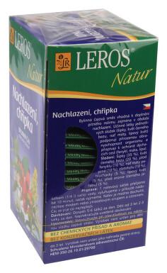 LEROS NATUR Nachlazení. chřipka n.s.20x1.5g