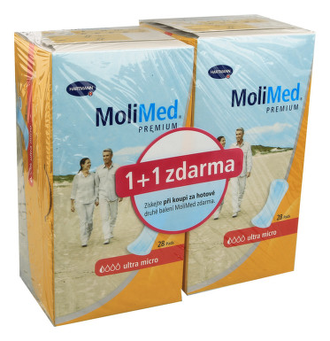 Inkont.vložky MoliMed Premium Ultra Micro 2x28ks