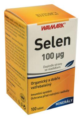 Walmark Selen 0.100mg tbl.100