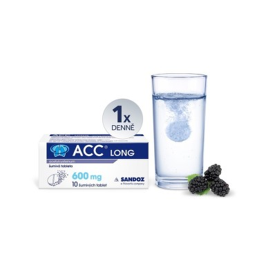 ACC LONG perorální šumivá tableta 10X600MG