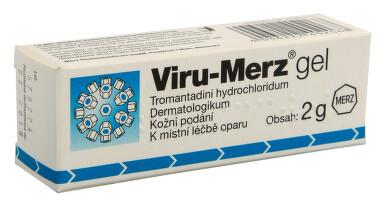 VIRU-MERZ kožní podání gely 1X2GM