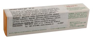 WELEDA Dětský zubní gel 10ml