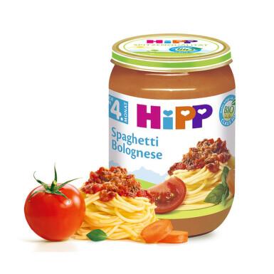 HiPP BABY BIO Špagety v boloň. omáčce 190g
