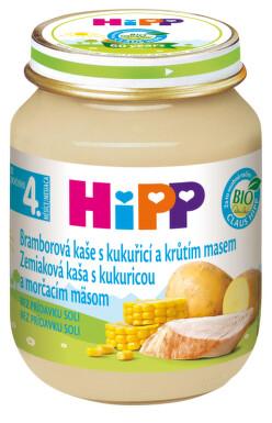 HiPP BABY BIO Br.pyré s kukuř.+krůt.m. 125g