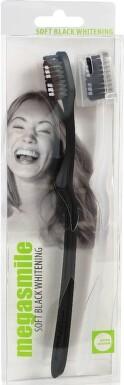 MegaSmile zubní kartáček Black Whitening SOFT 2ks