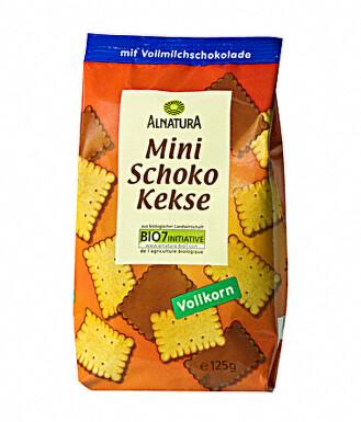 Alnatura Čokoládové mini sušenky 125g