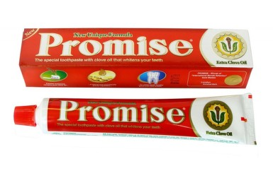 Zubní pasta Promise s hřebíčkovým olejem 150g