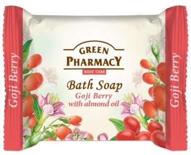 Mýdlo plody kustovnice s mandlovým olejem 100g