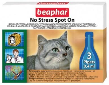 No Stress Spot On Cat 3x0.4ml