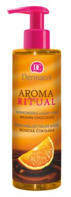 Dermacol Aroma Ritual tek.mýdlo belg.čokol.250ml