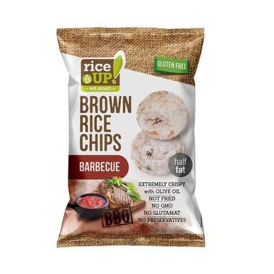 Rýžové chipsy barbecue 60g