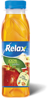RELAX 100% jablko 0.3l PET