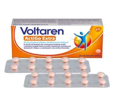 VOLTAREN ACTIGO EXTRA 25MG obalené tablety 20