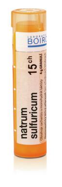 NATRUM SULFURICUM 15CH granule 4G