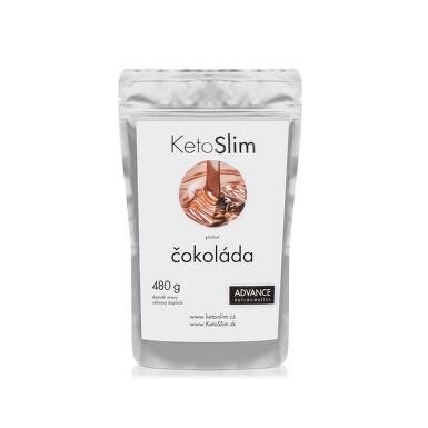ADVANCE KetoSlim - příchuť čokoláda 480 g