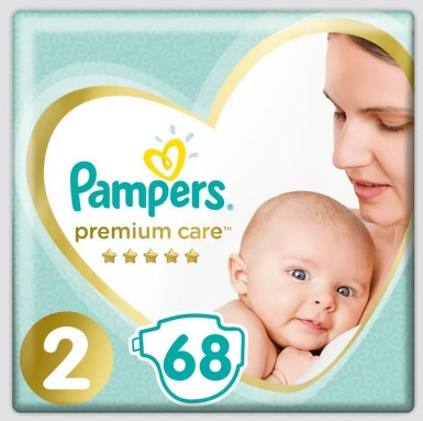 Pampers Premium Value Pack S2 68ks