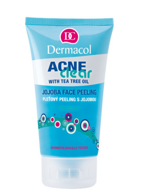 Dermacol Acneclear pleťový peeling s jojobou 150ml
