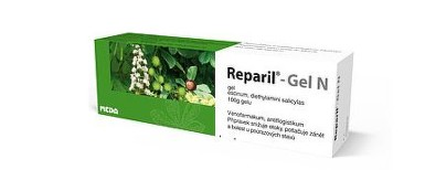 REPARIL - GEL N 10MG/G+50MG/G gely 100G I