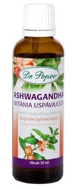 Dr.Popov Kapky bylinné Ashwagandha 50ml