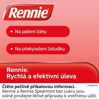 RENNIE SPEARMINT BEZ CUKRU perorální žvýkací tableta 36