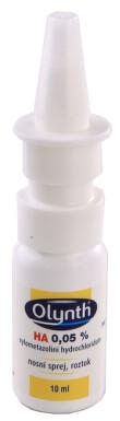 OLYNTH HA 0,05% nosní podání sprej, roztok 1X5MG/10ML
