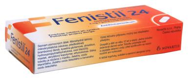FENISTIL 24 perorální tvrdé tobolky s prodlouženým uvolňováním 20X4MG