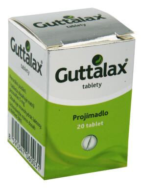 GUTTALAX perorální neobalené tablety 20X5MG