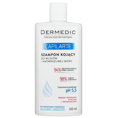DERMEDIC Capilarte Zklidňující šampon citl. 300ml