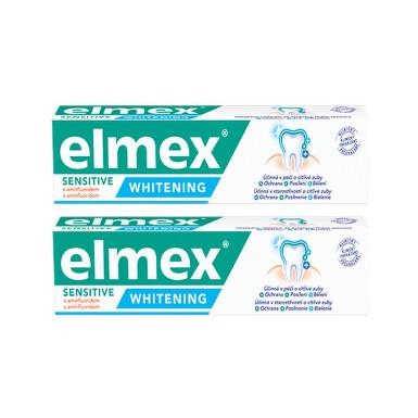 Elmex Sensitive whitening zubní pasta 2x75ml