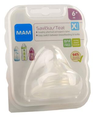MAM Savička na lahev VX rychlý průtok 6+m 1ks
