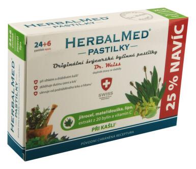 HerbalMed past. Dr.Weiss Jitroc+mateř+lípa+C 24+6