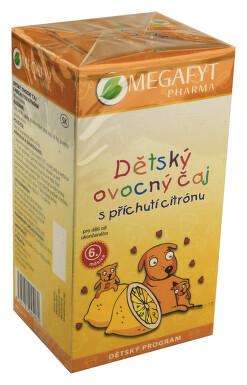 Megafyt Dětský ovocný čaj s př.citrónu n.s.20x2g