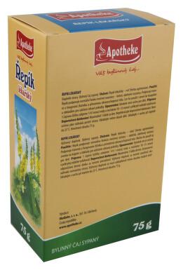 Apotheke Řepík lékařský -nať sypaný čaj 75g