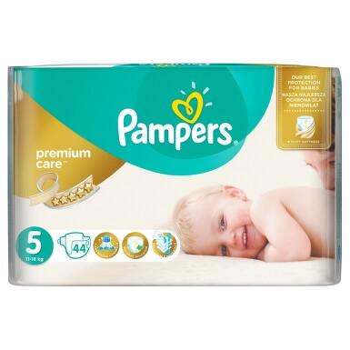 PAMPERS Premium Care Junior 11-18kg 44ks