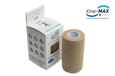 KineMAX Cohesive elast.samofix.10cmx4.5m tělové