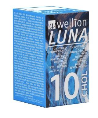 Testovací proužky Luna cholesterol 10 ks