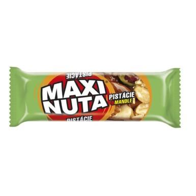 MAXI NUTA Ořechová tyčinka Pistácie & Mandle 35g