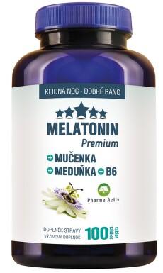 Melatonin Mučenka Meduňka B6 80+20 tablet ZDARMA