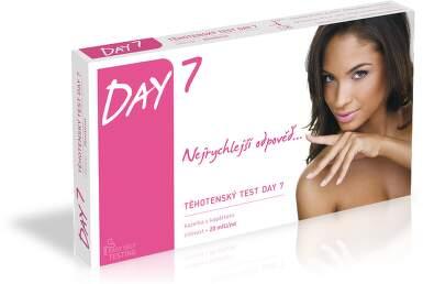 Těhotenský test DAY 7 kazetový formát