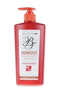 Body Tip Norkové tělové mléko hydr.koenz.Q10 400ml