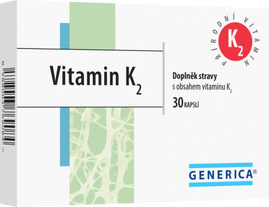 Vitamin K2 cps.30 Generica